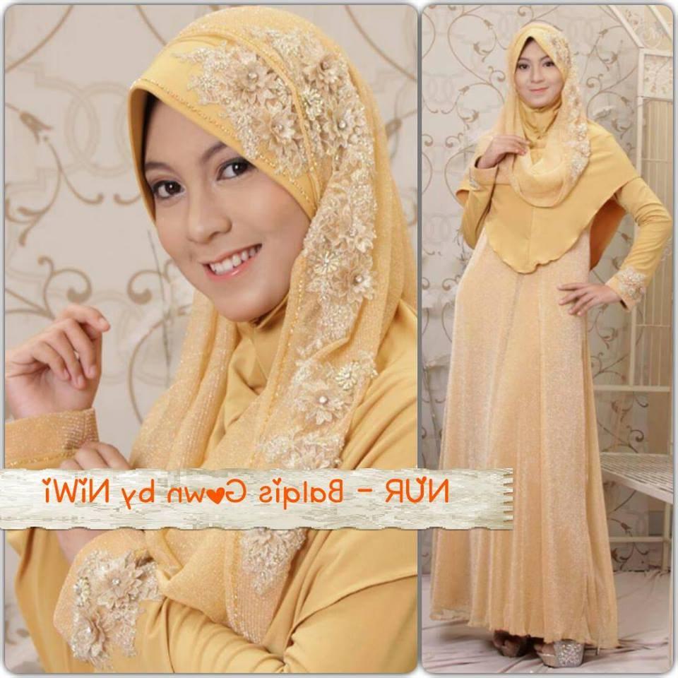 Model Baju Pengantin Muslimah Syar'i 3ldq Baju Pengantin Muslim Syar I Sederhana Inspirasi Pernikahan