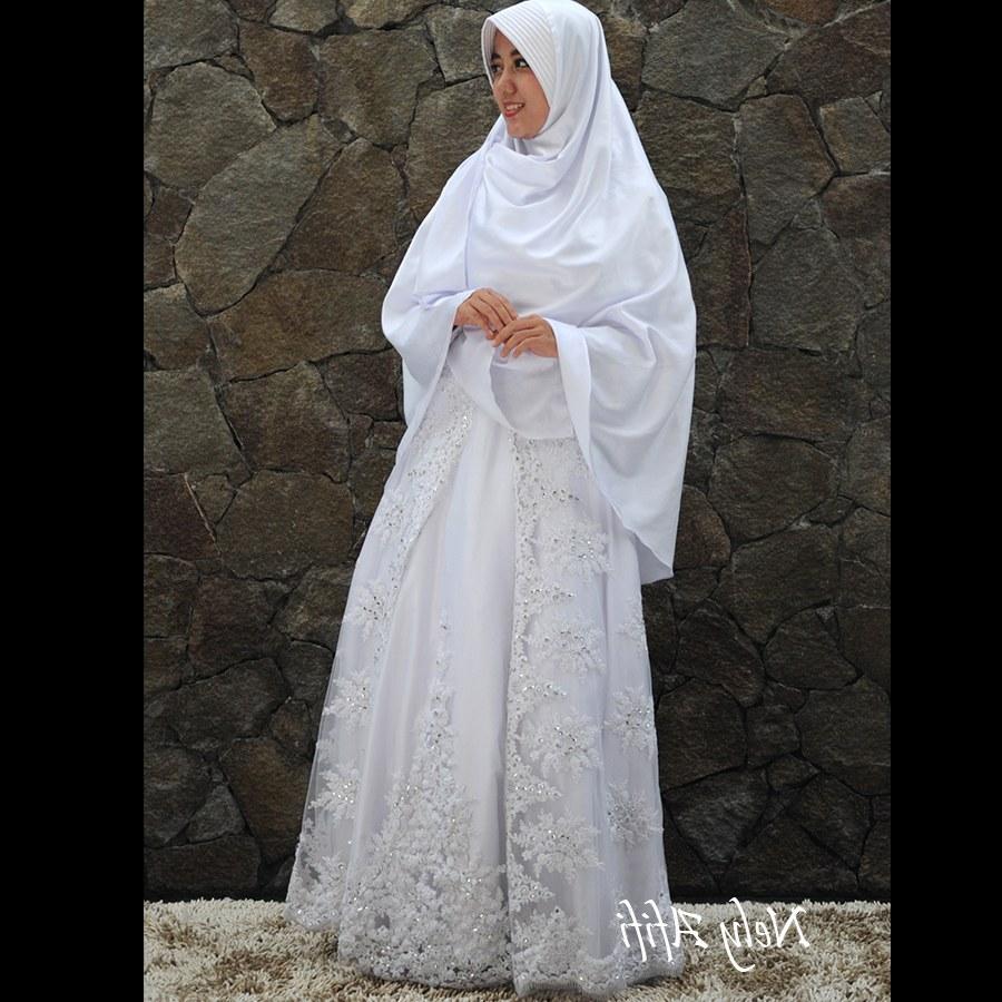 Model Baju Pengantin Muslimah Syar'i 87dx Baju Pengantin Muslim Syar I Sederhana Inspirasi Pernikahan