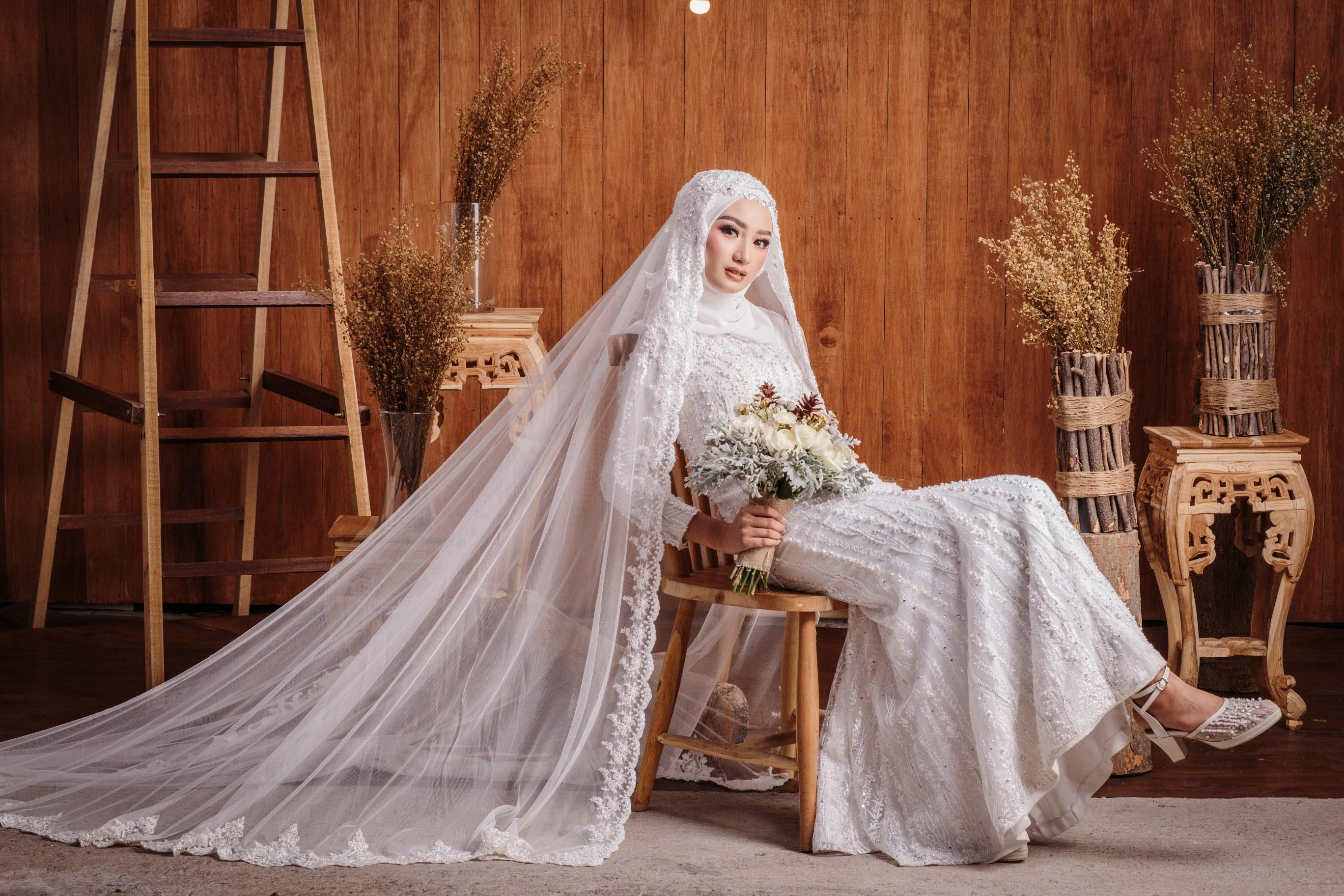 Model Baju Pengantin Muslimah Syar'i Dddy Hijab Syar I Pengantin Muslimah Inspirasi Pernikahan