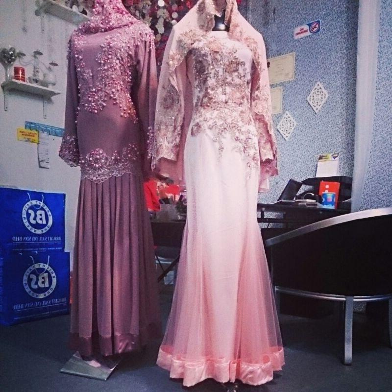 Model Baju Pengantin Muslimah Syar'i Kebaya 8ydm Baju songket Pengantin Carian Google
