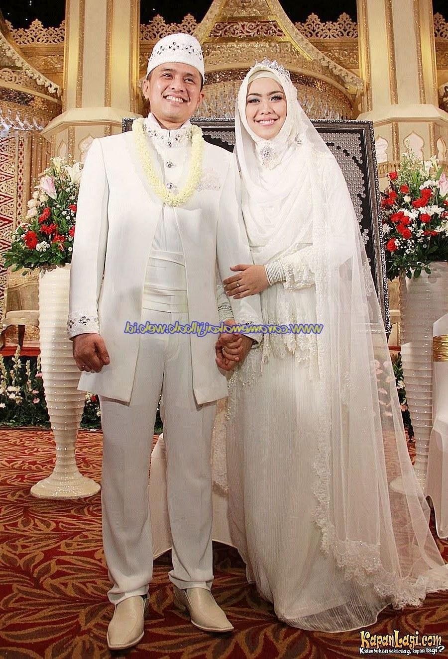 Model Baju Pengantin Muslimah Syar'i Kebaya Budm Baju Pengantin Muslimah Modern Terbaru 17