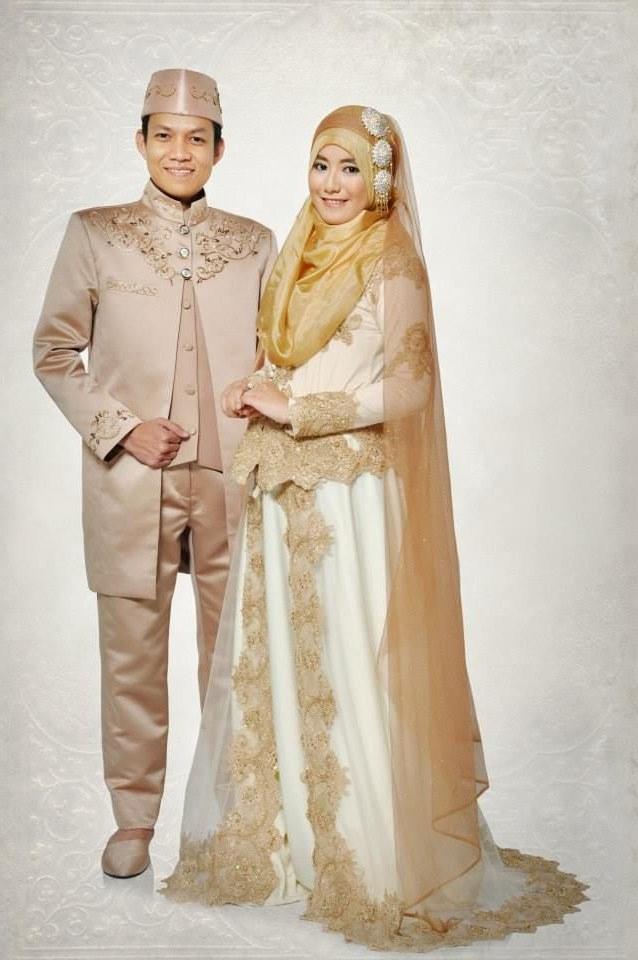 Model Baju Pengantin Muslimah Syar'i Kebaya Ffdn Foto Baju Pengantin Muslim Modern
