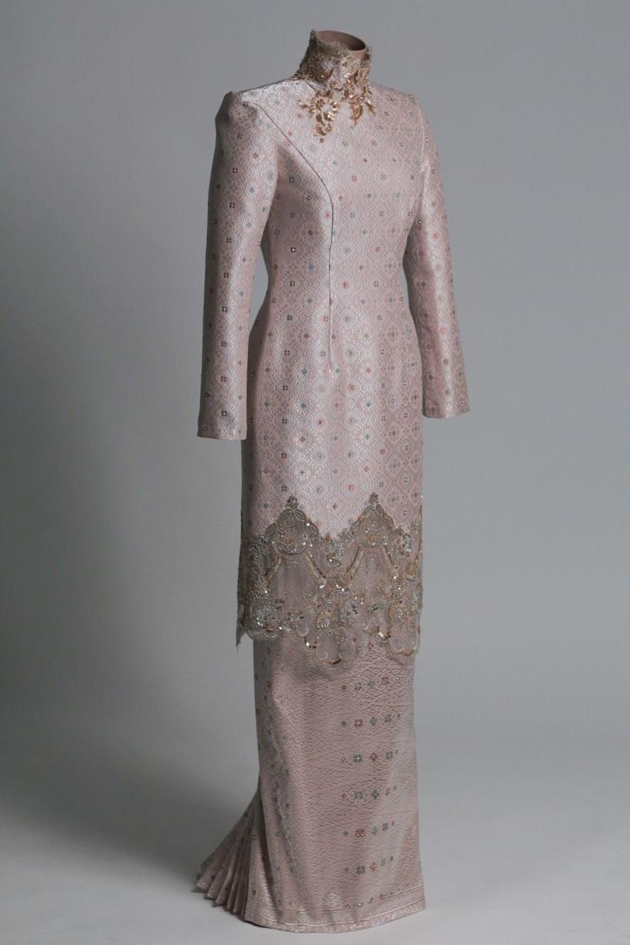Model Baju Pengantin Muslimah Syar'i Kebaya Irdz Modern Contemporary Malay Wedding Dress Bernard Chandran