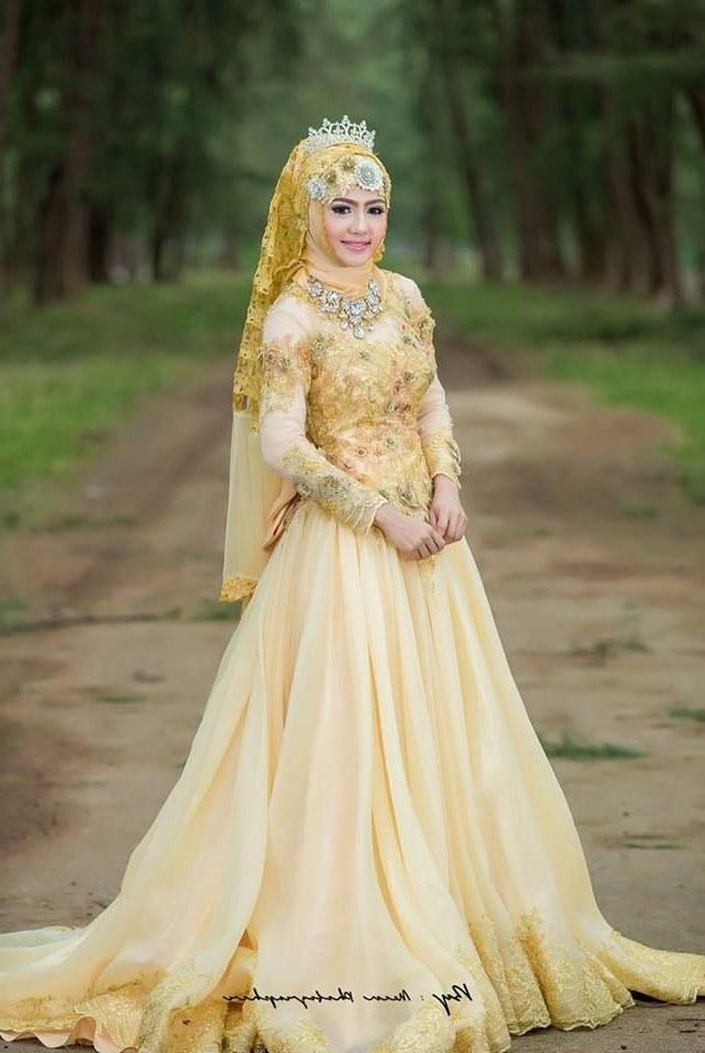 Model Baju Pengantin Muslimah Syar'i Kebaya Kvdd Baju Pengantin Terbaru 2016 Hijab Busanamuslim Hijabi