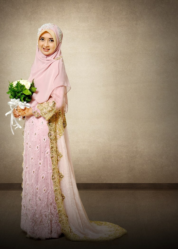 Model Baju Pengantin Muslimah Syar'i Kebaya S5d8 Baju Pengantin Haura Model Jasmine S 03 2