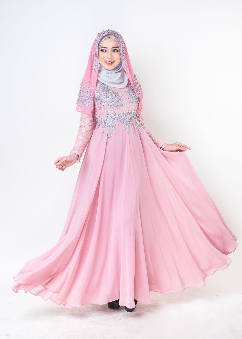 Model Baju Pengantin Muslimah Syar'i Kebaya S5d8 Trend Baju Muslim Pengantin 2017