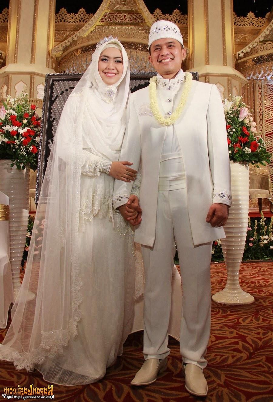 Model Baju Pengantin Muslimah Syar'i Nkde Kebaya Modern Muslim Marriage International Kebaya Batik