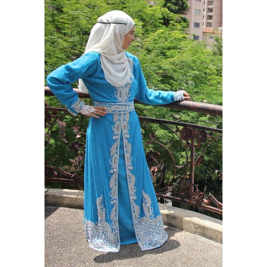 Model Baju Pengantin Muslimah Syar'i S5d8 Moonabaya™ Baju Pengantin & Sanding Marielle Sparkling