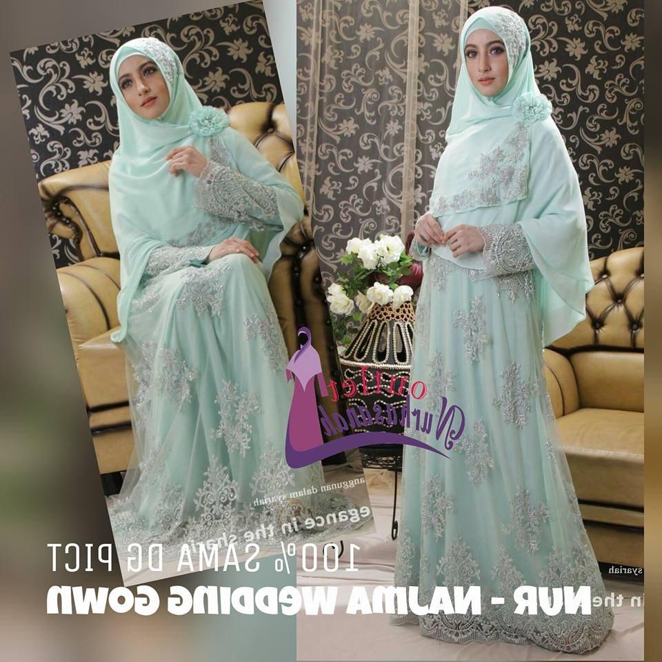 Model Baju Pengantin Muslimah Syar'i U3dh Baju Pengantin Muslim Syar I Sederhana Inspirasi Pernikahan