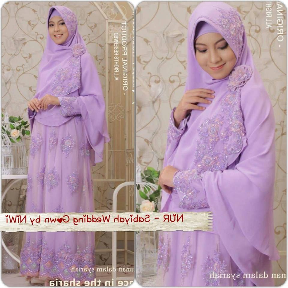 Model Baju Pengantin Muslimah Syar'i Zwdg Baju Pengantin Muslim Syar I Sederhana Inspirasi Pernikahan