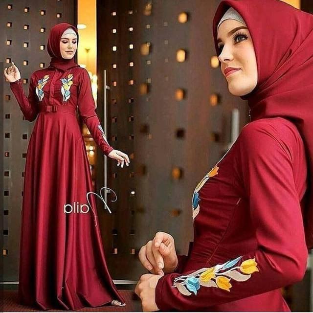 Model Baju Pengiring Pengantin Muslimah Nkde Baju Wanita Bigsize Trendy Kemeja Jumbo Big Size Salur Cantik Ld 105 Biru Muda L Xl B133