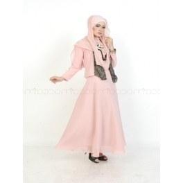 Model Baju Pengiring Pengantin Muslimah Rldj Mocca Brand Fashion Muslimah Dengan Sentuhan Yang Mature