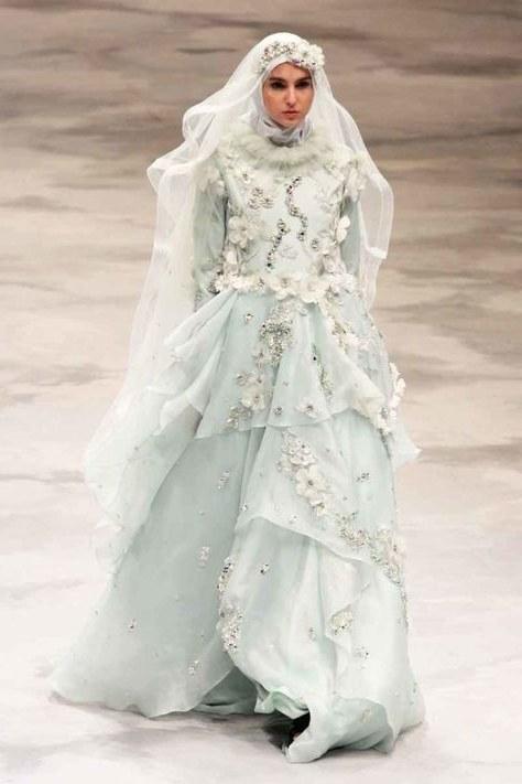 Model Busana Pengantin Syari 3id6 15 Inspirasi Gaun Pernikahan Syar I Ini Bisa Dicontek Demi