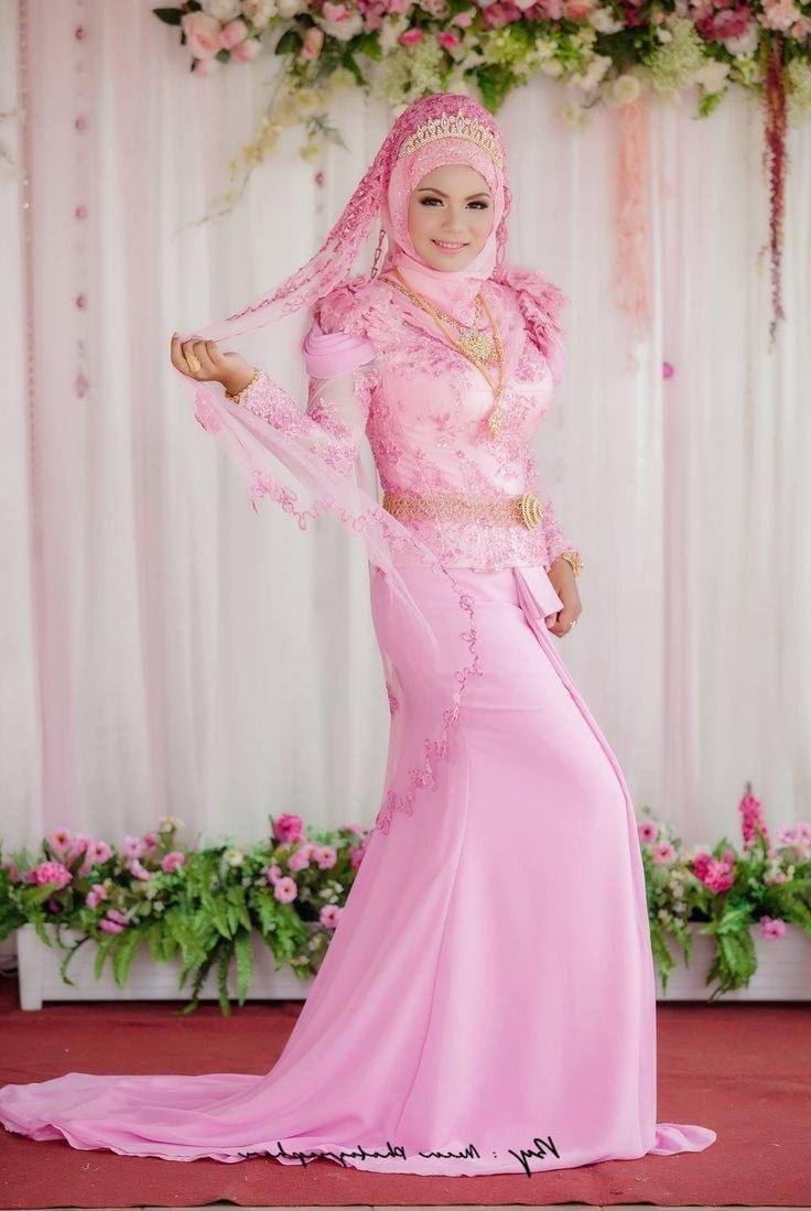 Model Busana Pengantin Syari 4pde 30 Model Hijab Syari Wedding
