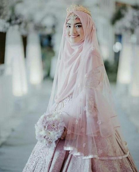 Model Busana Pengantin Syari Dddy List Of Pinterest Pengantin Muslimah Syari Images
