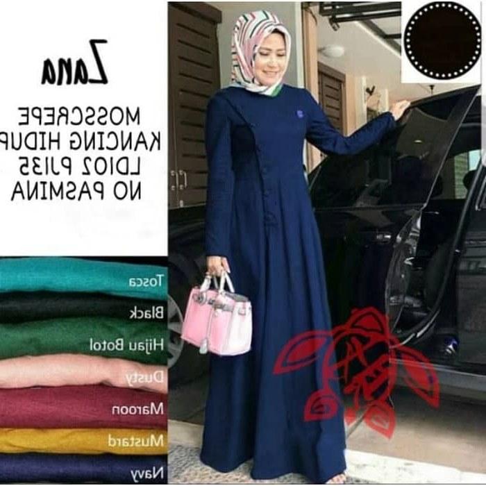 Model Busana Pengantin Syari Q0d4 Jual Baju Gamis Wanita Syari Od Maxi Zana Navy Dki Jakarta Kanda Gamis Shop
