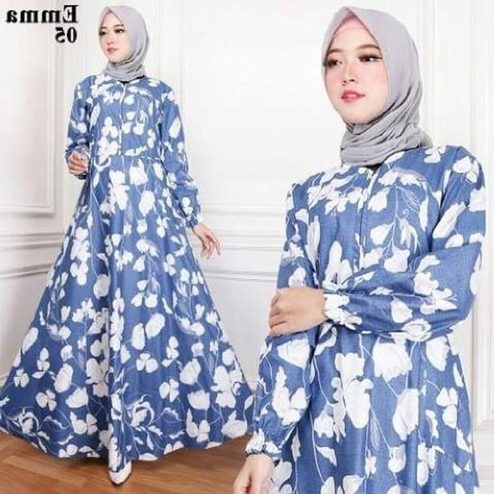 Model Busana Pengantin Syari X8d1 Jual Yao Yao Gamis Emma Syari 05 Putih Navy Katun Busana Muslim Pakaian Dki Jakarta Tri Indah Galery