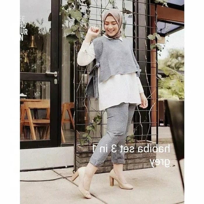 Model butik Baju Pengantin Muslimah 8ydm Jual Od Habiba Set 3 In 1 Kota Bandung butik Zagas