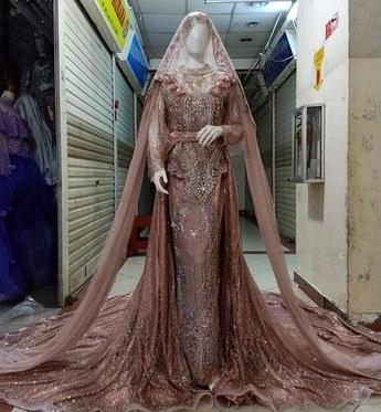 Model butik Baju Pengantin Muslimah S1du List Of Baju Akad Nikah songket Image Results