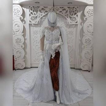Model butik Baju Pengantin Muslimah X8d1 List Of Baju Akad Nikah songket Image Results