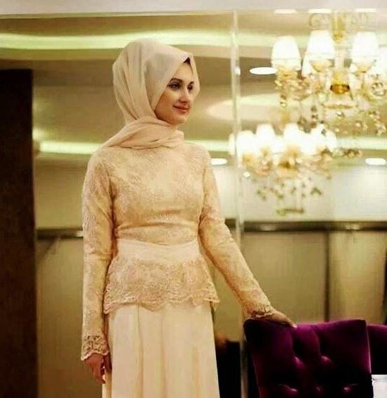 Model Desain Gaun Pengantin Muslim Modern 4pde Foto Pernikahan Muslim Gambar Foto Gaun Pengantin Tips