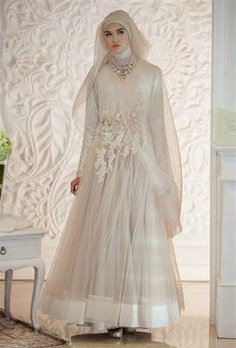 Model Desain Gaun Pengantin Muslim Modern Rldj 33 Best Muslim Wedding Images In 2019