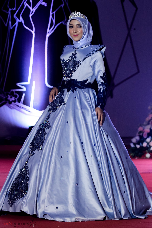 Model Desain Gaun Pengantin Muslimah 3ldq Foto Mengintip Gaun Pengantin Muslimah Rancangan Mahasiswa