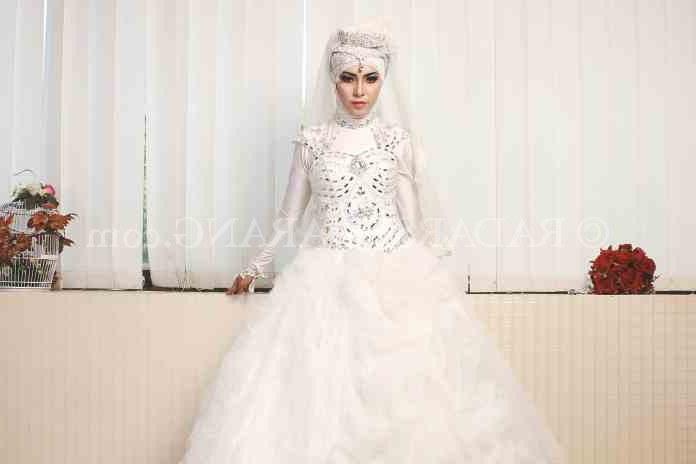 Model Desain Gaun Pengantin Muslimah Ipdd Pengantin Muslim Tetap Bisa Tampil Mempesona