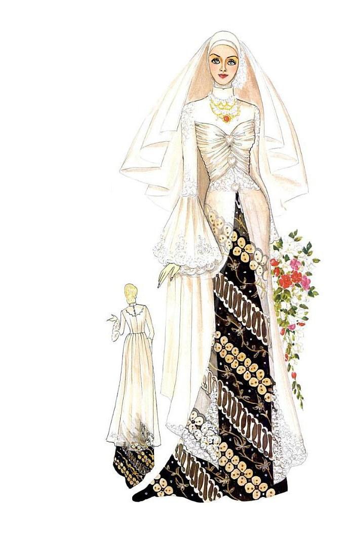 Model Desain Gaun Pengantin Muslimah Q0d4 Kebaya Dan Gaun Pengantin Muslim