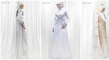 Model Desain Gaun Pengantin Muslimah Tldn 6 Gaun Pengantin Muslimah Elegan Beauty Fimela
