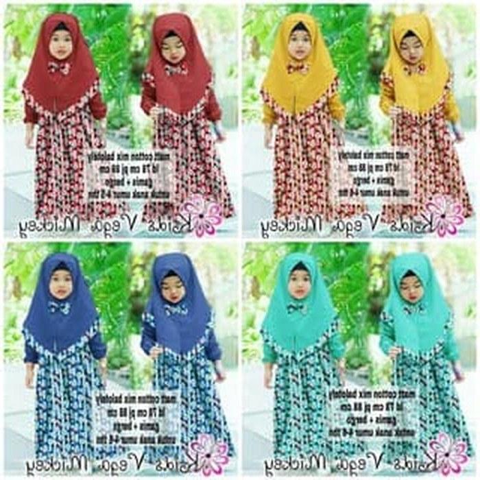 Model Gaun Muslim Pengantin Jxdu Jual [citra 88 Busana] Baju Muslim Gamis Anak Syari Kids Vegamick Od Dki Jakarta Citra 88 Busana