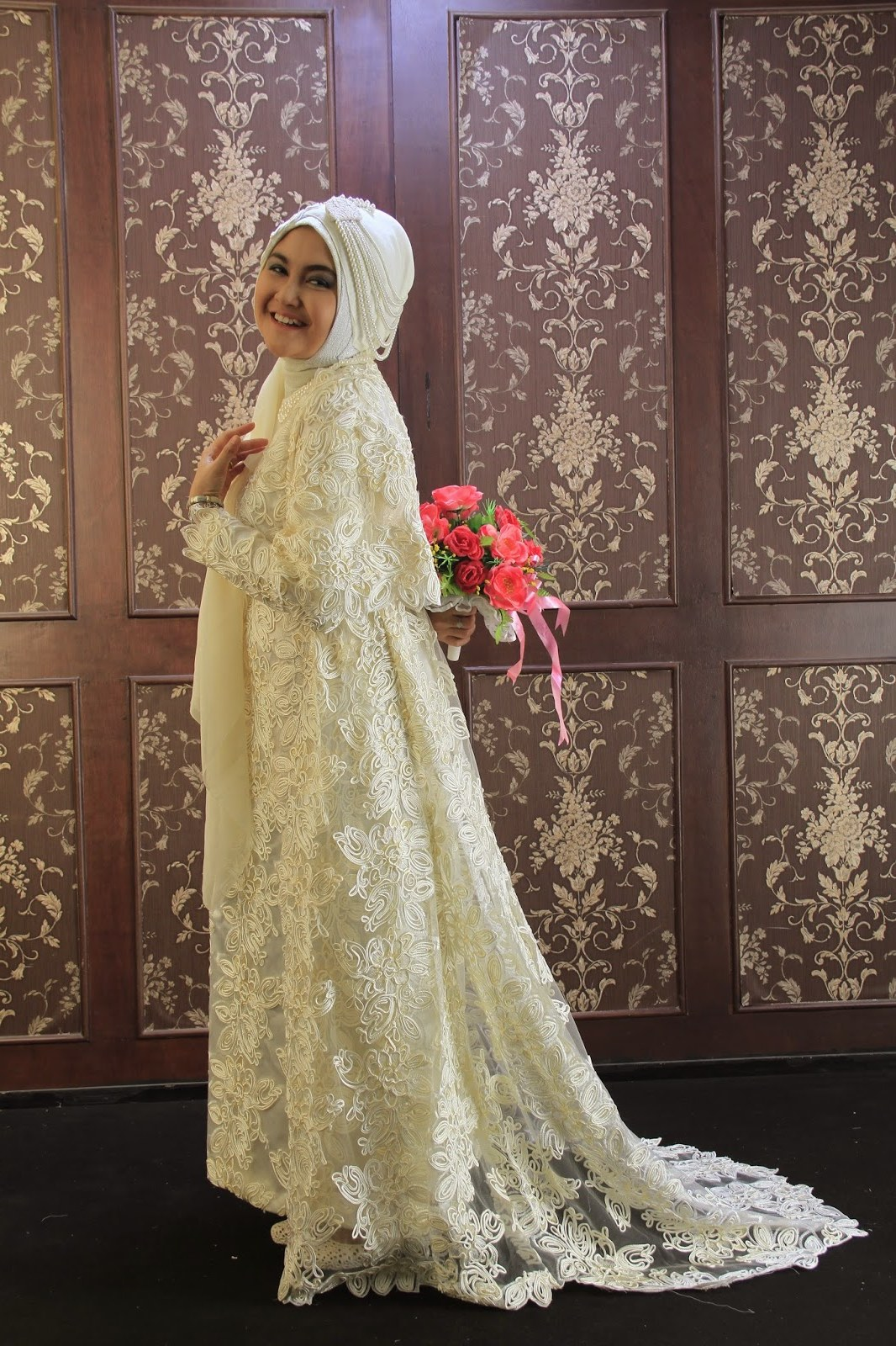 Model Gaun Muslimah Pengantin Wddj Padme Wedding Dress Confessions Of A Seamstress the