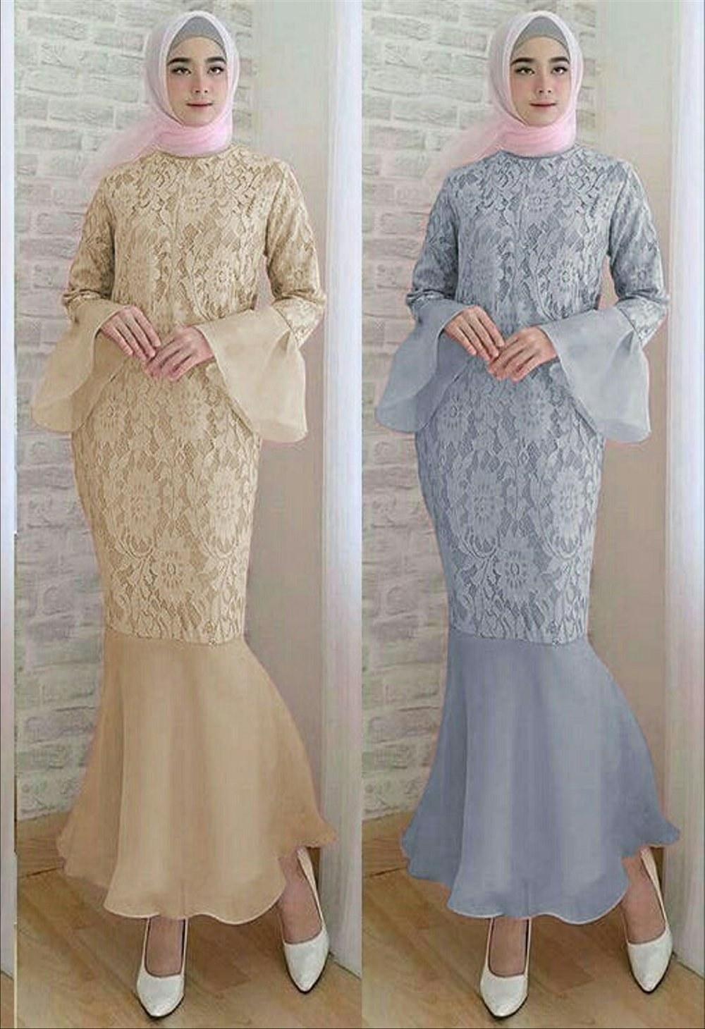 Model Gaun Pengantin Modern Muslim Ftd8 Model Kebaya Duyung Model Kebaya Terbaru 2019