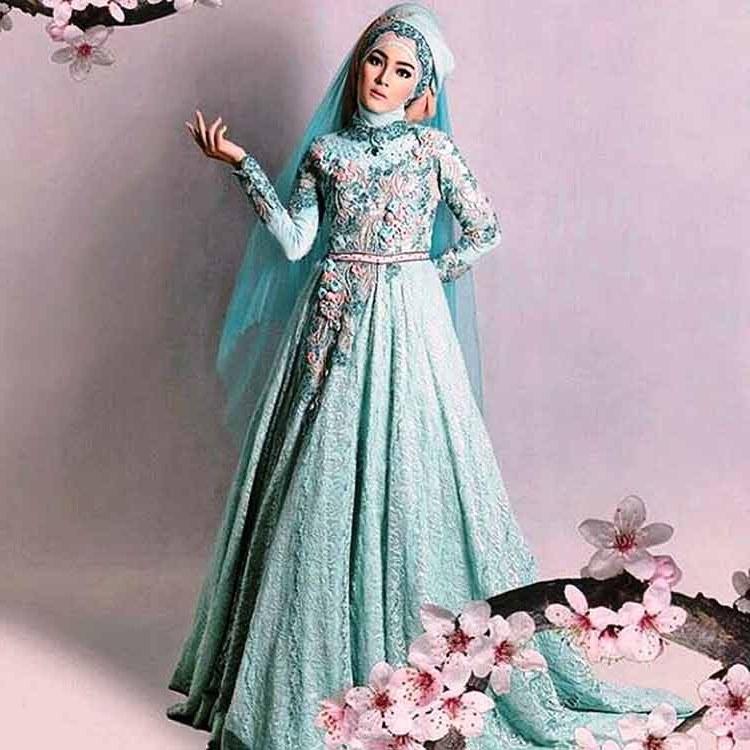 Model Gaun Pengantin Modern Muslim X8d1 Gaun Pengantin Muslimah Simple Tapi Elegan Malaysia