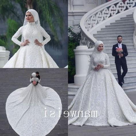 Model Gaun Pengantin Muslim 2017 J7do List Of Gaun Pengantin Muslim Wedding Dressses Long Sleeve