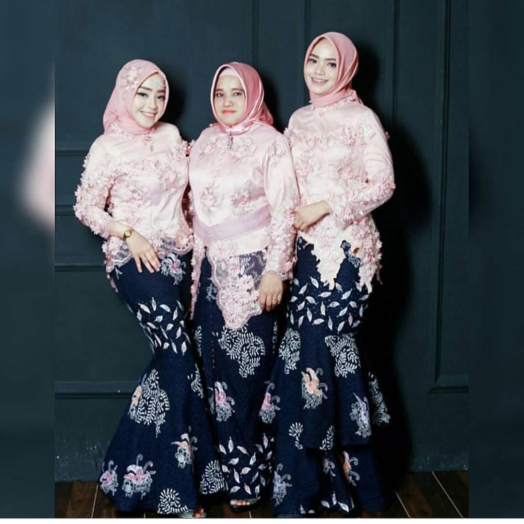 Model Gaun Pengantin Muslim Modern 2018 X8d1 Model Baju Gamis Duyung Kombinasi Batik Gamis Brokat