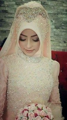 Model Gaun Pengantin Muslim Modern 2018 X8d1 Pin Oleh Ahza Hauza Di Baju Pengantin