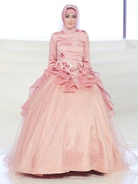 Model Gaun Pengantin Muslim Modifikasi 9fdy Contoh Desain Baju Pengantin Muslimah Desain Pernikahan