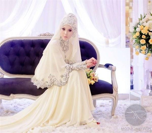Model Gaun Pengantin Muslim Modifikasi J7do Contoh Desain Baju Pengantin Muslimah Desain Pernikahan