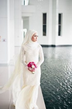 Model Gaun Pengantin Muslim Modifikasi Xtd6 Pinterest