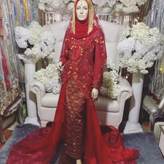 Model Gaun Pengantin Muslim Pink 8ydm Wedfest Instagram Hashtag Mentions