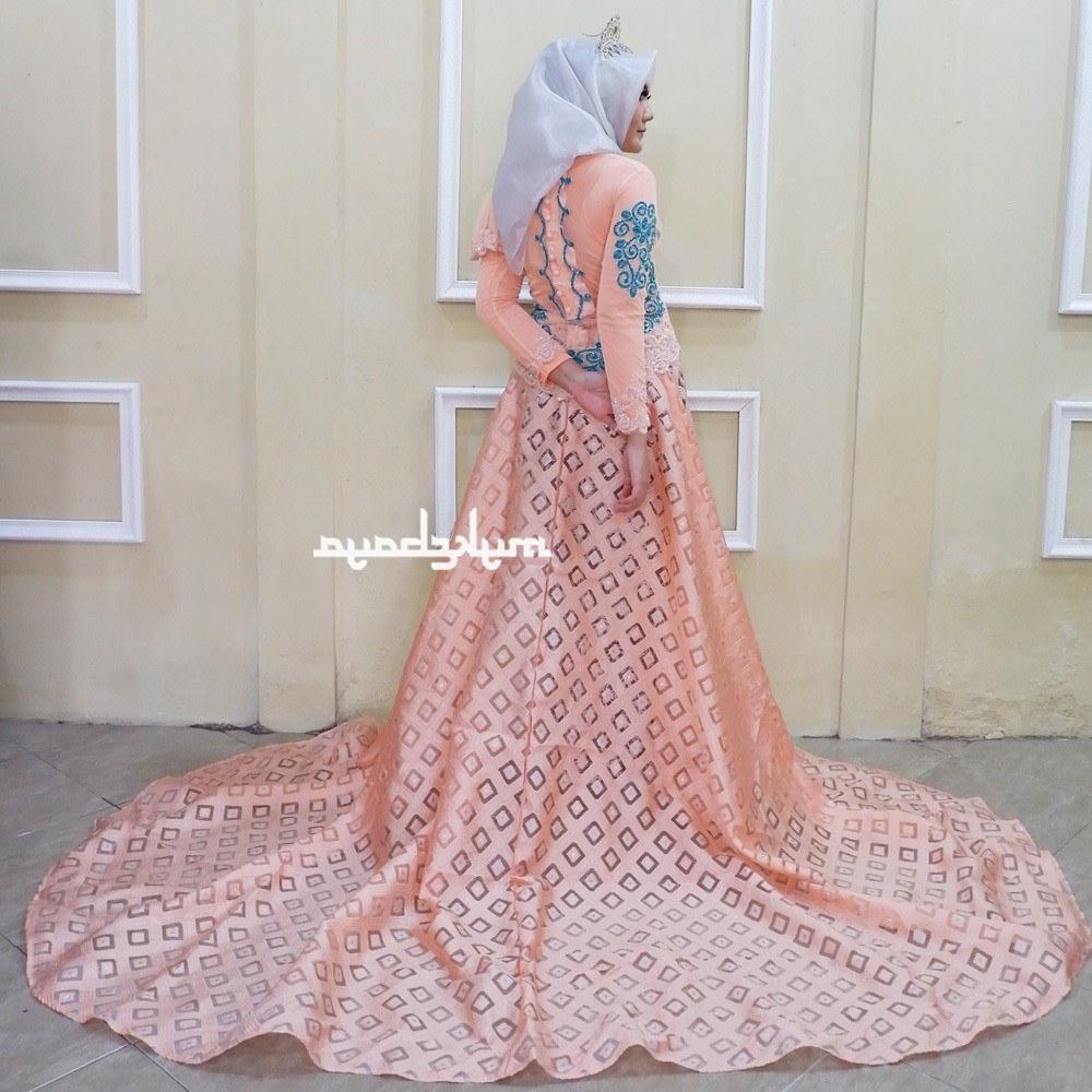 Model Gaun Pengantin Muslim Pink Dddy Shopee Indonesia