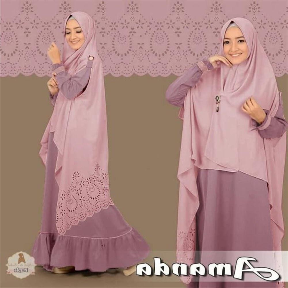 Model Gaun Pengantin Muslim Pink Tqd3 Tangga Perlengkapan
