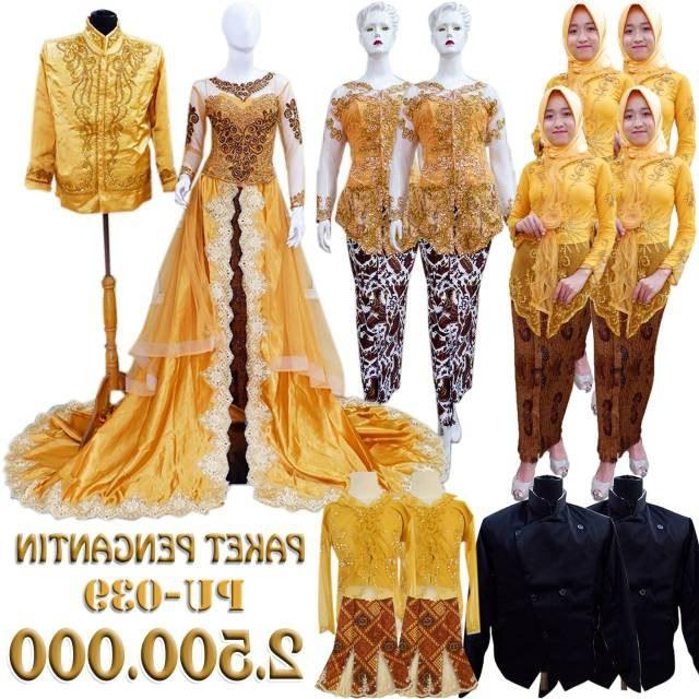 Model Gaun Pengantin Muslim Sepasang 4pde Promo toko nor Wa 0814 1358 8247 Murah Paket Kebaya Pengantin Ekor Wedding Sepasang Kebaya