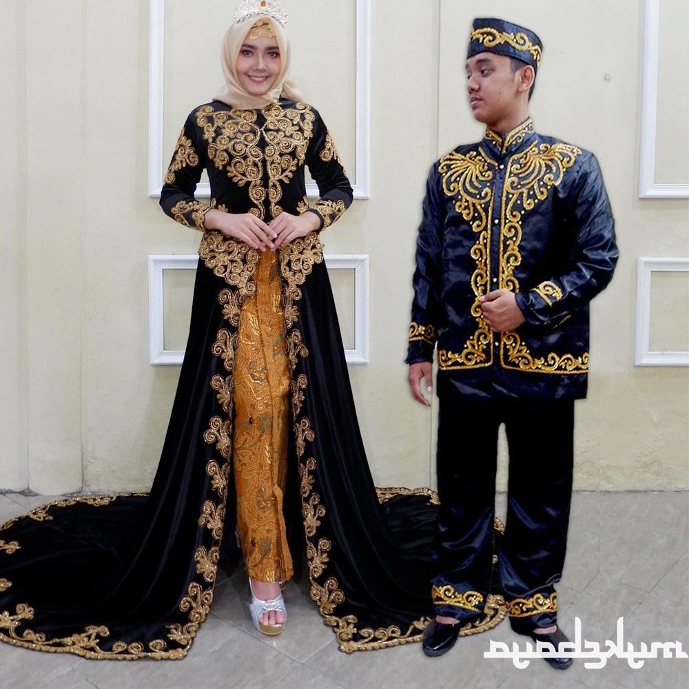 Model Gaun Pengantin Muslim Sepasang Budm Shopee Indonesia