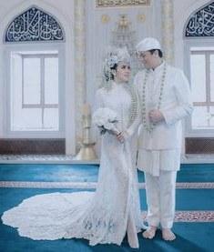 Model Gaun Pengantin Muslim Sepasang Fmdf 144 Best Baju Nikah Putih Images In 2019