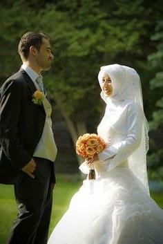 Model Gaun Pengantin Muslim Sepasang Jxdu 30 Best Foto Foto Pengantin Muslim Romantis Images
