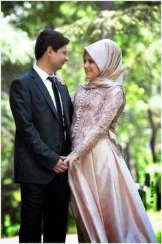 Model Gaun Pengantin Muslim Sepasang T8dj 30 Best Foto Foto Pengantin Muslim Romantis Images