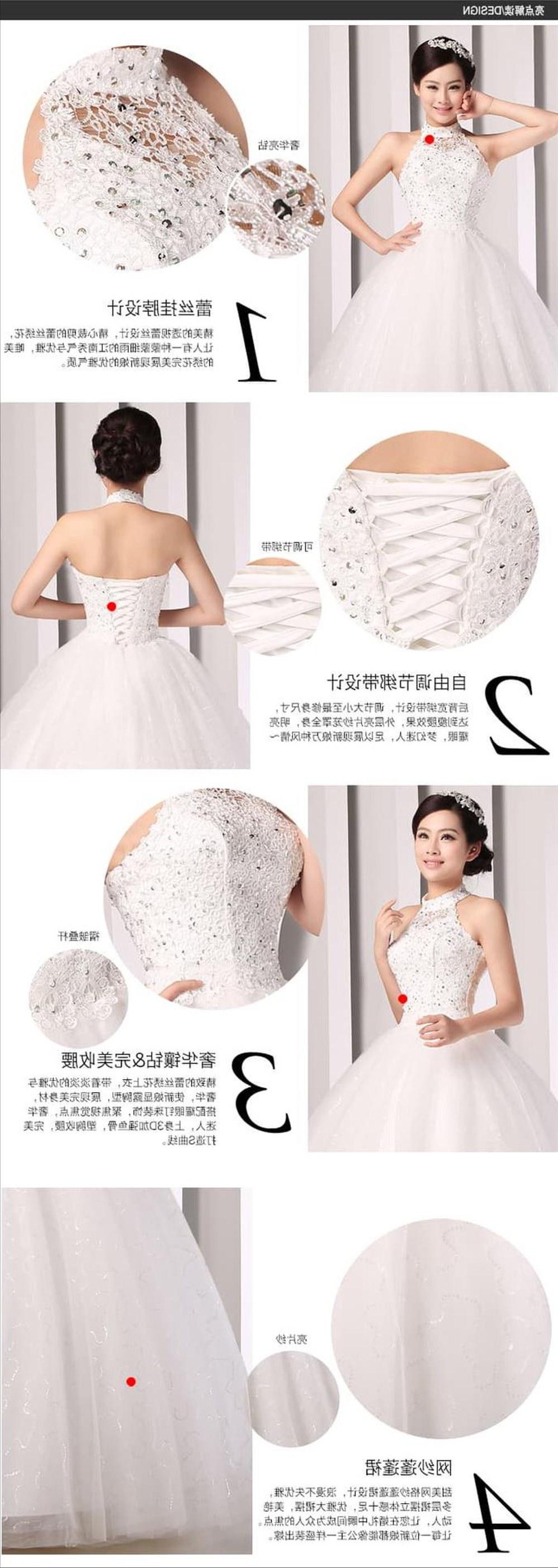 Model Gaun Pengantin Muslimah 2016 Dddy Wedding Dress Gaun Pengantin Ikat Leher Payet Bordir Korea 2016