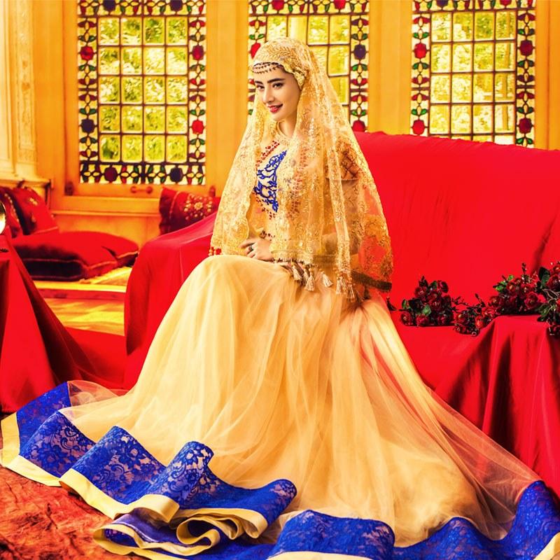 Model Gaun Pengantin Muslimah 2016 Drdp Muslim Marriage Wedding Dress for Women – Fashion Dresses
